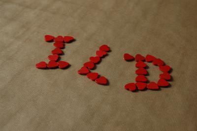 Liebe Und Herzen Ich Liebe Dich Aus Streudeko Herzen 2 Kostenlose