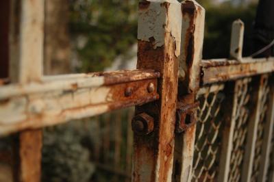 Rost Rostiger Zaun Kostenlose Fotos Designerzone De